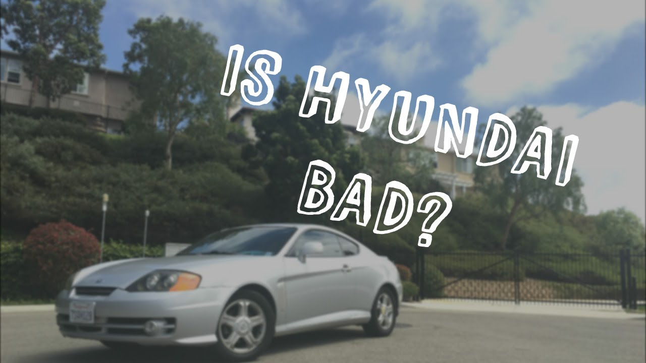 2004 Hyundai Tiburon Review I Is Bad 164 000 Miles