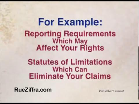 Port Orange Worker's Compensation Attorney - Rue & Ziffra