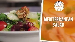 How To Make Mediterranean Salad By Chef Ajay
