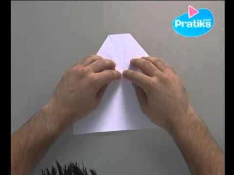 Comment faire un avion en papier youtube - Comment faire un porte avion en papier ...
