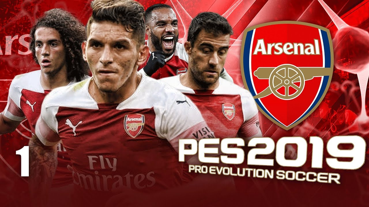 BETTER THAN FIFA 19 CAREER MODE!?! | PES 2019 ARSENAL MASTER LEAGUE #1 (PC 60fps Gameplay)