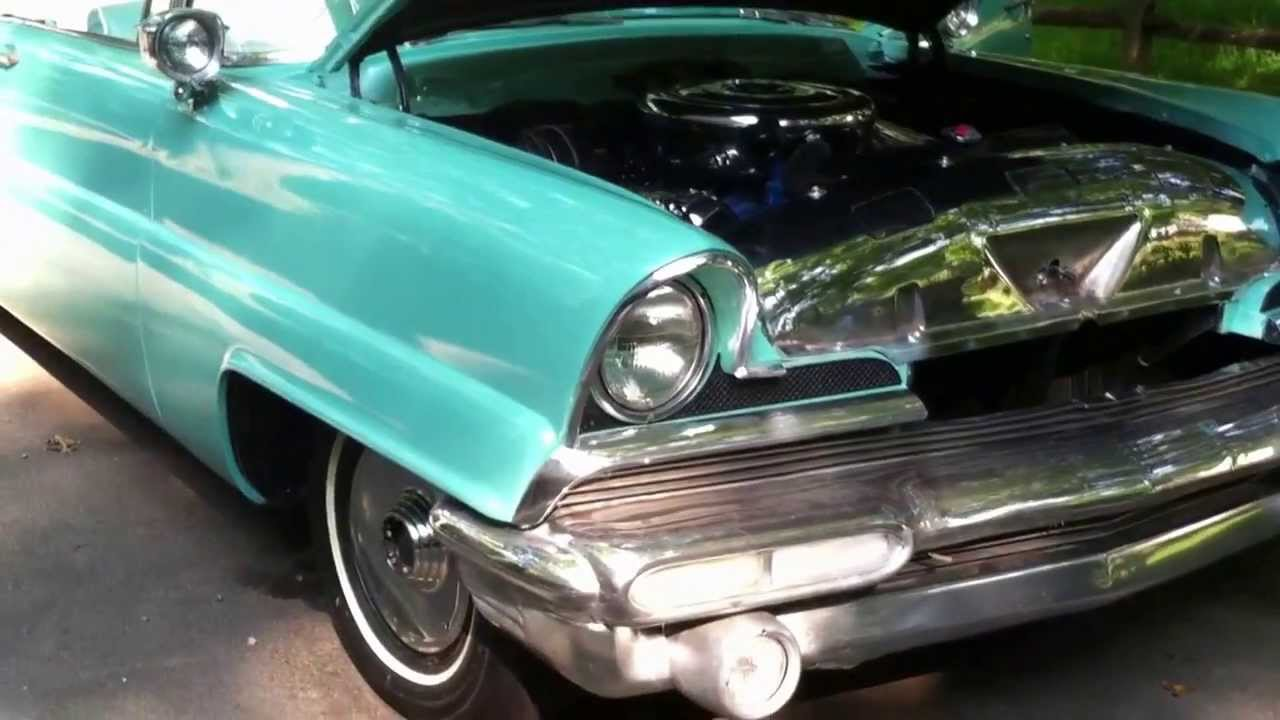 1956 lincoln premiere for sale on ebay start up without exhaust youtube. Black Bedroom Furniture Sets. Home Design Ideas