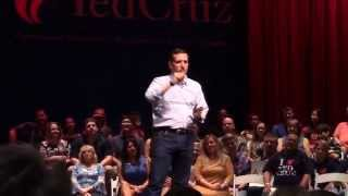 ted cruz at tea party rally in kingwood texas condensed in under 5 minutes