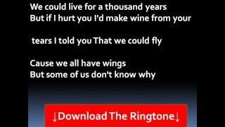 INXS - Never Tear Us Apart Lyrics