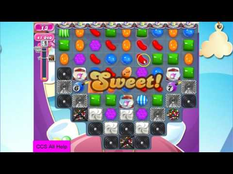 Candy Crush Saga Level 2265 NO BOOSTERS Cookie