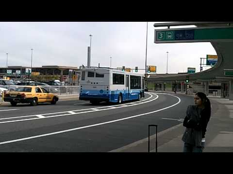 Port Authority of New York & New Jersey Shuttle Bus Orion VII #4990 @ Newark Airport in HD