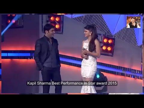 Kapil Sharma Best Performance - Star award - 2015 - KSFC