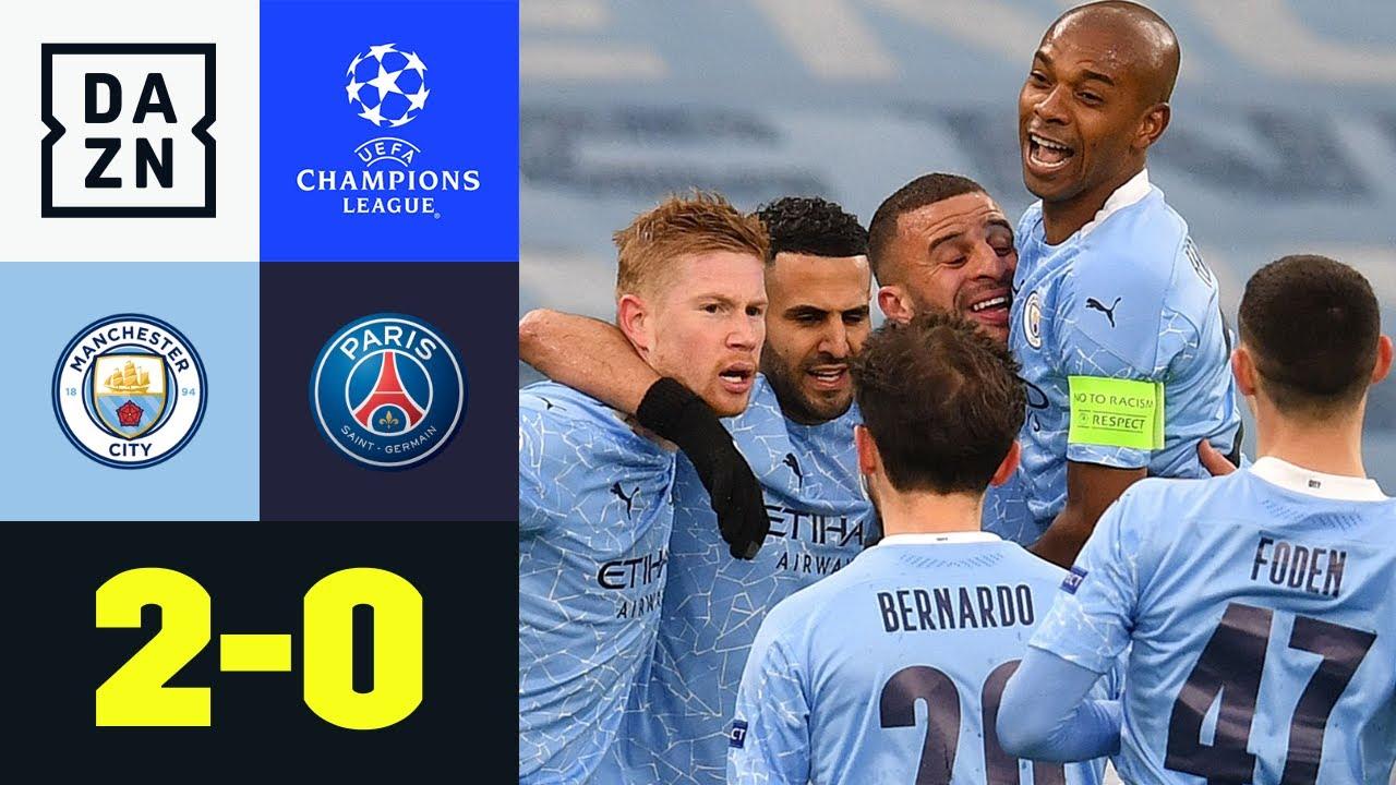 City im Finale! Mahrez schießt Citizens ins Glück: Man City - PSG 2:0   UEFA Champions League   DAZN
