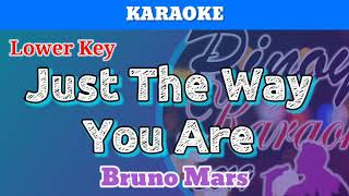 Just The Way You Are by Bruno Mars (Karaoke : Lower Key)