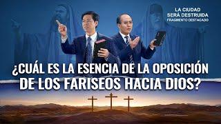 """Película evangélica """"La ciudad será destruida"""" Escena 3 - ¿Cuál es la esencia de la oposición de los fariseos hacia Dios?"""
