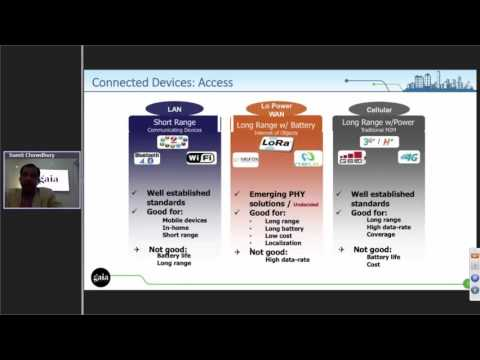 Webinar: Advances in telecom technologies assisting Smart Cities deployments