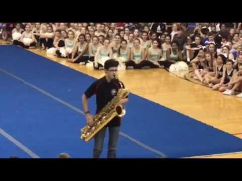 Aidan Brown  Flight Of The Bumblebee 78th grade assembly  Bari Sax