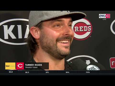 Tanner Roark Was In Arby's Parking Lot When He Heard He'd Been Traded | REDS-PIRATES POSTGAME