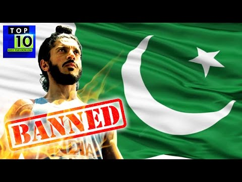 Top 10 Indian Bollywood Movies Banned in Pakistan