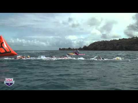 2012 Junior Pan Pacific Championships 10k Open Water Race