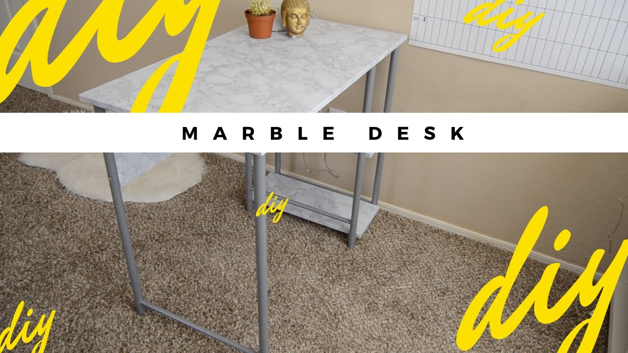 Diy Home Decor How To Make A Faux Marble Table