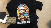 13fd317f BAPE MOTION TEE UNBOXING (Sarugeneral) - YouTube
