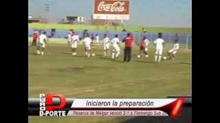 Reserva FBC Melgar 2-1 Flamengo sub-20 / PURO DEPORTE