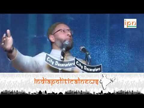 Asaduddin owaisi Speech at azam campus Pune onTahafuz-E-Shariyat