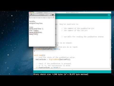 Arduino Tutorial : Using The Serial Monitor