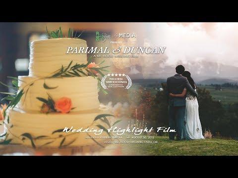 Parimal and Duncan's Wedding, Mt. Hood, Oregon, Ryan Ao Media, Portland Videographer