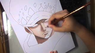 Speed Drawing - Trafalgar Law (One Piece)