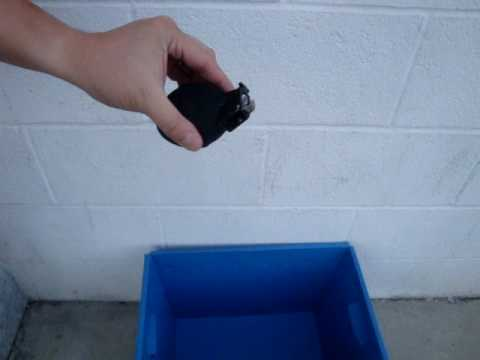 Powder Shot Ver. 2 Hand Grenade Prototype GAS Version Testing In USA Part-1