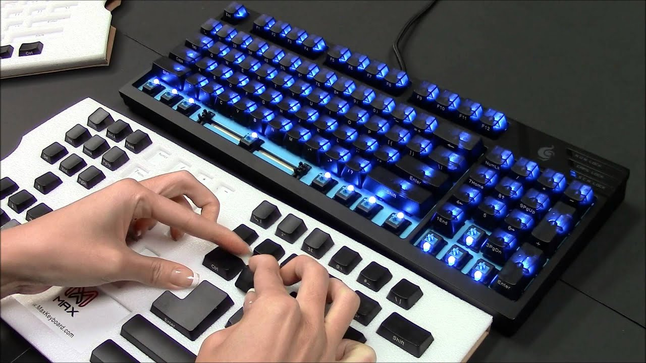 how to get rid of blue keys on keyboard