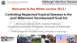 Repeat youtube video Edinburgh Infectious Diseases and Global Health Academy Winter Lecture 2013