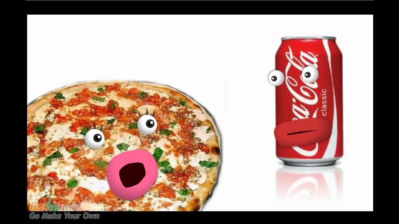 картинки пицца и кола прикольные бы, чтобы следующий