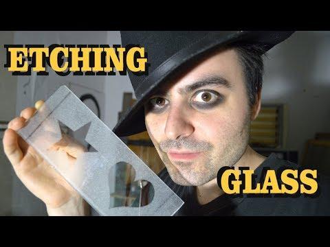 Glass Etching - Cheap Method