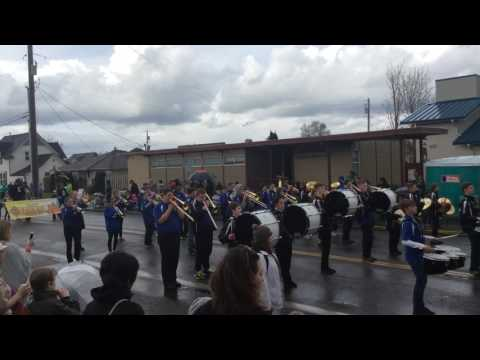 Orting Middle School Band - 2017 Daffodil Parade