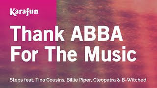 Karaoke Thank ABBA For The Music - Steps *