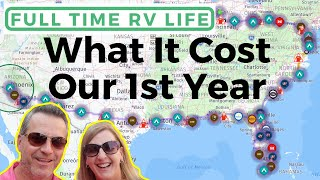 How Much it Cost to Live in an RV Full Time [1 Year RV Budget Review]