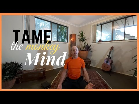 Yoga to Tame the Monkey Mind