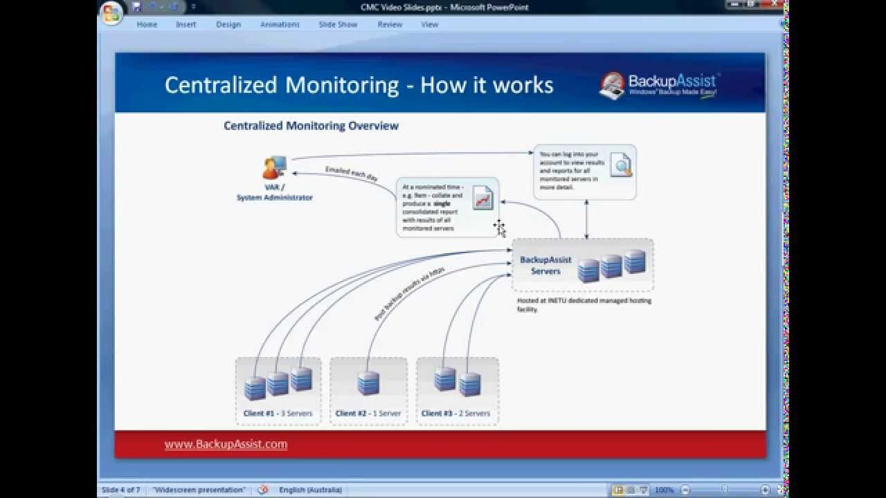 Backupassist centralised monitoring console cmc youtube for Monitoring consul