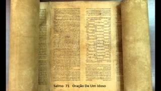 Salmo 71 -   Oracao de um idoso  -     A Biblia Narrada por ...