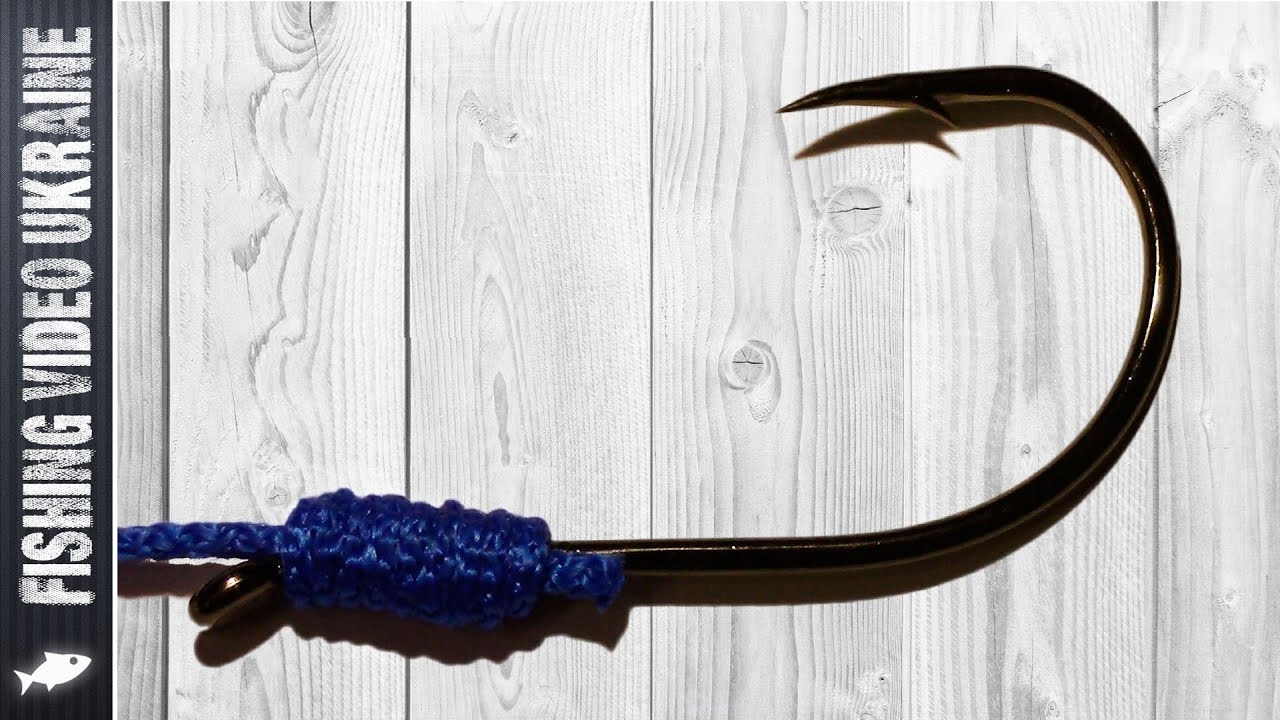 """Comment nouer un crochet avec une spatule? Noeud """"CAID LOOP"""" (Common Snell) HD"""