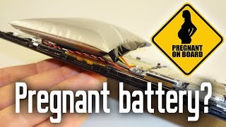 Bulging Swollen Battery Tablet Cell Phone. How to fix your device.