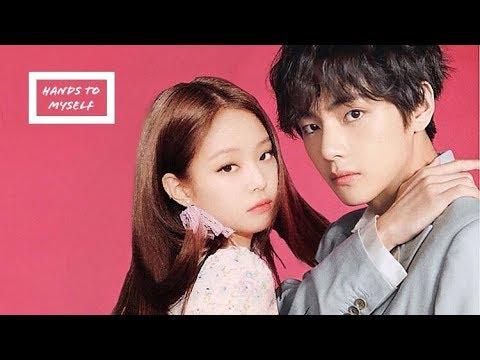 🌸Taennie🌸 Jennie (blackpink) & Taehyung (bts) • Hands To Myself • [fmv]