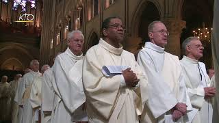 Messe Chrismale à Notre-Dame De Paris