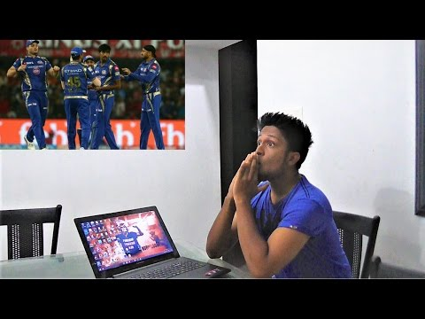 Gujarat Lions vs Mumbai Indians Match 35 IPL 2017 LIVE REACTION