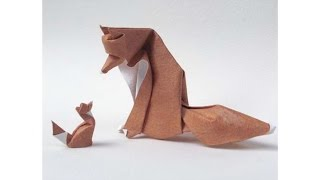 Origami Fox By Giang Dinh