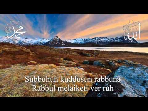 Abdülkadir Şehitoğlu - Subhanel Ebedil Ebed