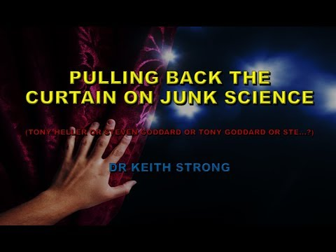 PULLING BACK THE CURTAIN ON JUNK SCIENCE
