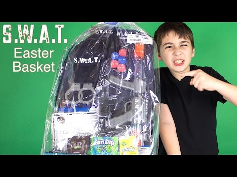 S.W.A.T. Easter Basket Unboxing!