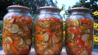 """ОЧЕНЬ ВКУСНЫЙ САЛАТ НА ЗИМУ  ''ОГУРЦЫ ПО - КОРЕЙСКИ"""" / Salad for the winter Korean cucumbers"""