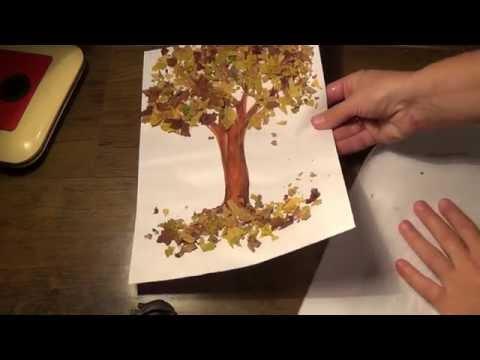 Поделка дерево на тему осень своими руками