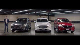 mazda CX-3, Mazda CX-5, Mazda CX-8, Mazda CX-9 2019 Crash Test