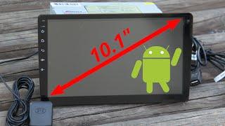 "Eunavi 2DIN 10"" android radio - Ogromne radio samochodowe niczym w TESLI"